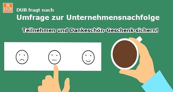 Umfrage zur Unternehmensnachfolge - DUB.de