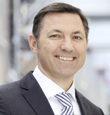 Andreas Krinninger, CEO von Linde Material Handling