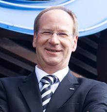 Uwe Laue, Vorstandsvorsitzender der Debeka-Versicherungsgruppe