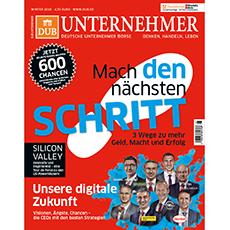Zum DUB UNTERNEHMER-Magazin Winter 2016