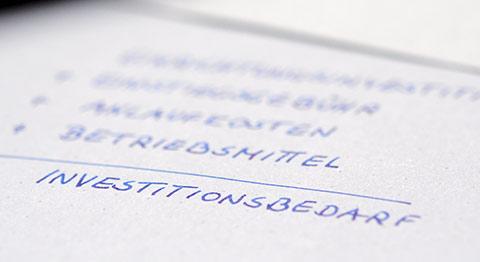 Franchise Nehmer werden: Finanzierung