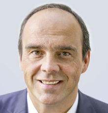 Hagen Rickmann, Chef des Telekom-Geschäftskundenbereichs Deutschland
