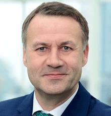 Eberhard Sautter, CEO von HanseMerkur, sieht die Gesundheitsbranche als Fortschrittstreiber
