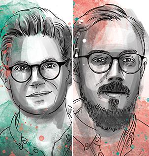 Marc Süß und Michael Schmitt