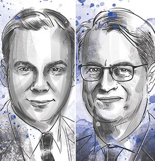 Peter Domma und Frank Göring von Villeroy & Boch