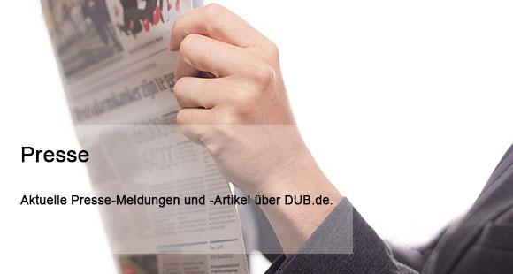 Presse auf dub.de