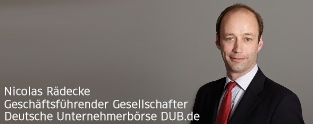 Unternehmen verkaufen: Nicolas Rädecke