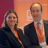 Nicolas Rädecke und Susanne Schnur von DUB.de auf dem Franchise Matching Day 2016.