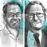 Christophe Hocquet von Brille24 und Jorge Marx Gómez von der Carl von Ossietzky Universität